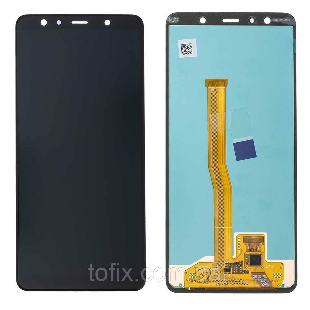 Дисплей для Samsung A750 Galaxy A7 (2018), модуль в сборе (экран и сенсор), оригинал #GH96-12078A