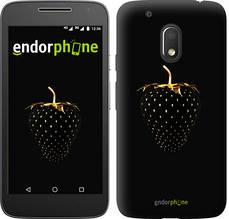 """Чехол на Motorola Moto G4 Play Черная клубника """"3585c-860-851"""""""