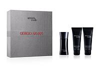 Набор Giorgio Armani CODE  (парфюмированная вода 50 мл + гель для душа 50 мл + лосьон для тела 50)