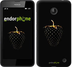"Чехол на Nokia Lumia 630 Черная клубника ""3585u-365-851"""