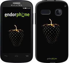 """Чехол на Alcatel One Touch Pop C3 4033D Черная клубника """"3585u-323-851"""""""