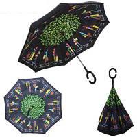 "Зонт обратного сложения ""Happy Girl"", фото 1"