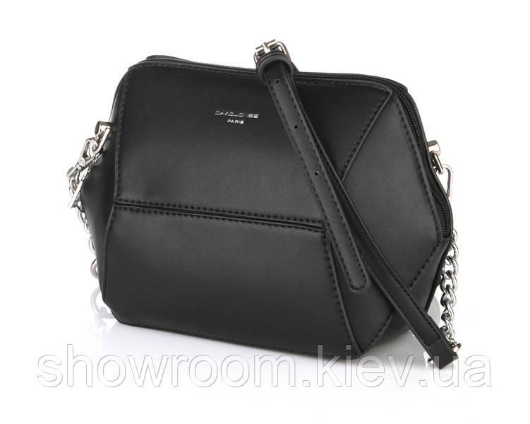 Женская стильная сумка David Jones (709) black
