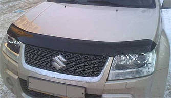 Дефлектор капота (мухобойка) Сузуки Гранд Витара (Suzuki Grand Vitara) с 2005 г
