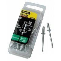Заклёпки Stanley  алюминиевые d4x6.5мм 20 шт.