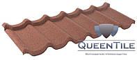 """Композитная черепица """"Queen Tile"""" Coffee лист 1-тайловый"""