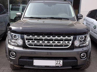Дефлектор капота (мухобойка) Ленд Ровер Дискавери (Land Rover Discovery) с 2009 г