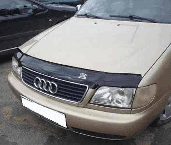 Дефлектор капота (мухобойка) Ауди А6 С4 (Audi A6 С4) 1994-1997 г