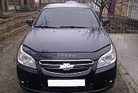 Дефлектор капота (мухобойка) Шевроле Эпика (Chevrolet Epica) с 2006 г