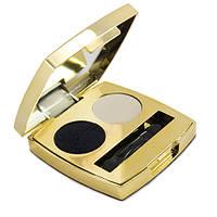Тени для век Lambre Eyeshadows Duo 2.6 г 04 Белый жемчуг и Черный агат - R142251