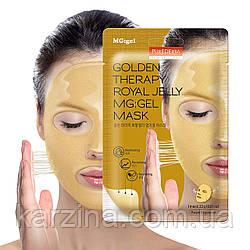 Гидрогелевая маска для лица с маточным молочком и золотомPurederm