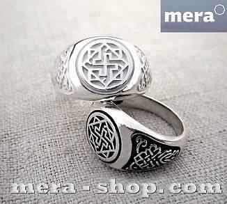 Валькирия перстень славянский оберег из серебра