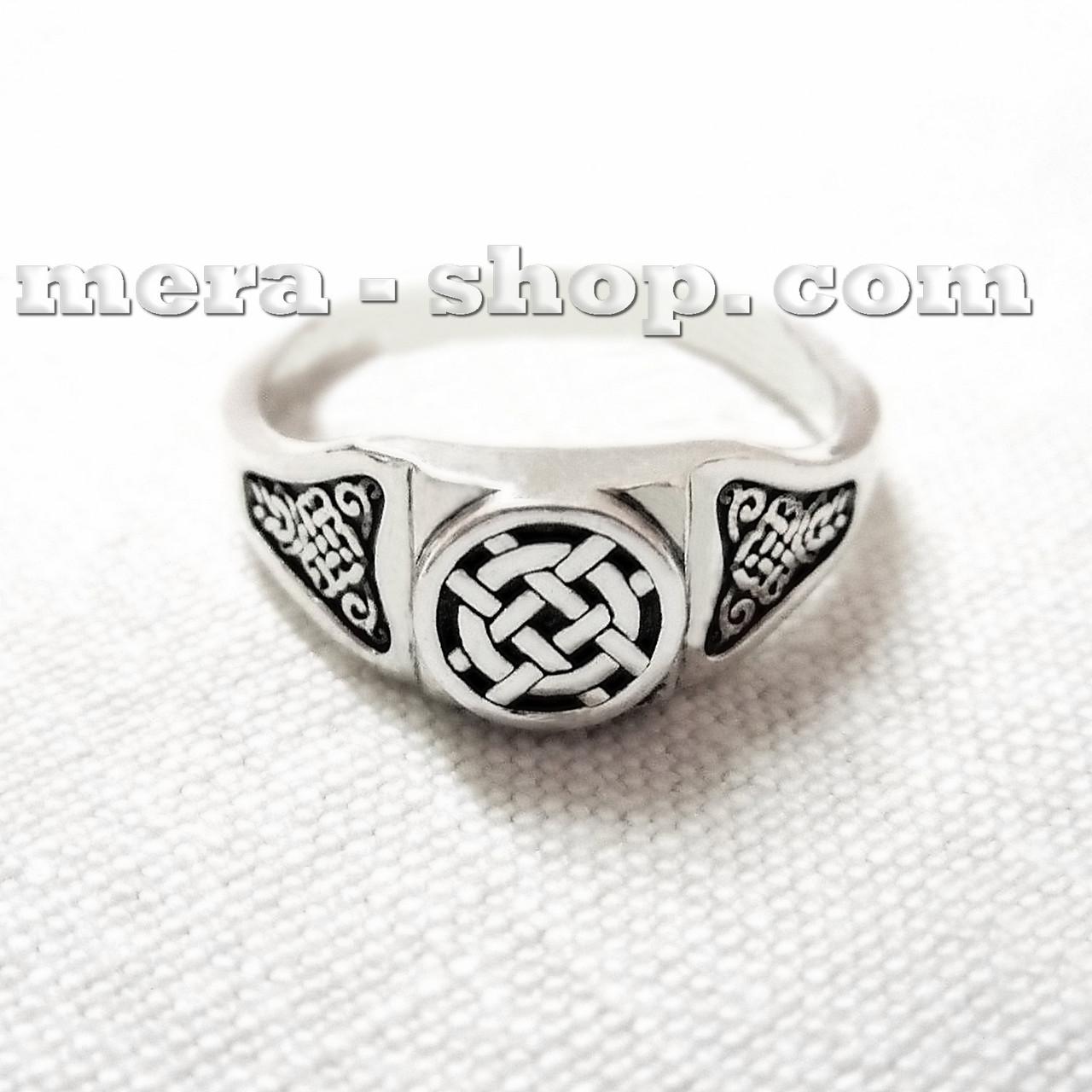 Лада серебряный перстень славянский оберег