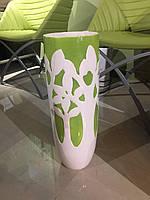 Ваза для цветов керамика с эмалью