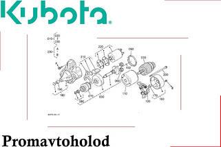 Электрическая система Kubota B3000