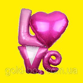 Воздушный шарик «love» 90см