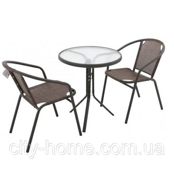 Комплект мебели стол и 2 стула EMMA