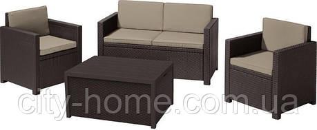 Комплект садовой мебели Monaco, коричневый, фото 2