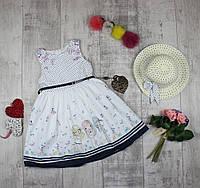 Платья детские с панамой на лето Moonstar 3781, фото 1