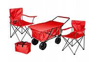 Тележка садовая-пляжная Red Set
