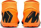 Сороконожки Nike MercurialX Superfly VI Academy TF (AJ3732-390) - Оригинал, фото 5