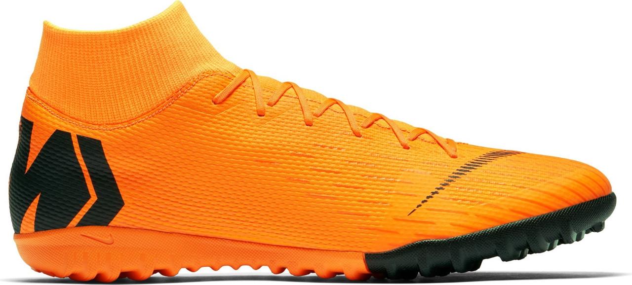 Сороконожки Nike MercurialX Superfly VI Academy TF (AJ3732-390) - Оригинал