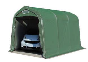 Павильон гаражный 2,4x3,6 м ПВХ 550 г/м² (Зеленый)