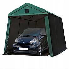 Павильон гаражный 2,4x3,6 м ПВХ 500 г/м² (Зеленый)