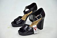 Черные босоножки Donna Piu к.6757