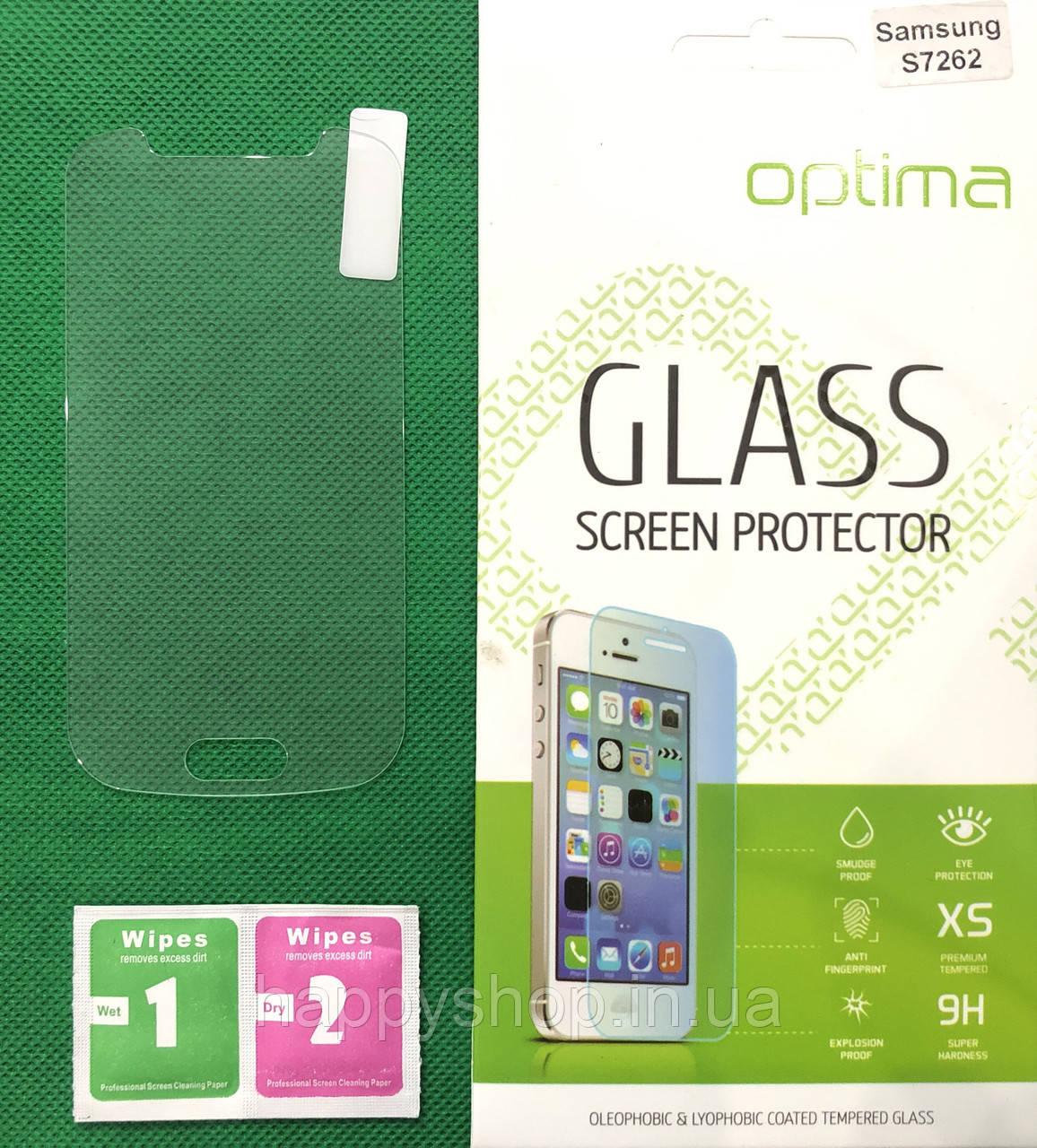 Защитное стекло Samsung Galaxy Star plus S7262/S7260