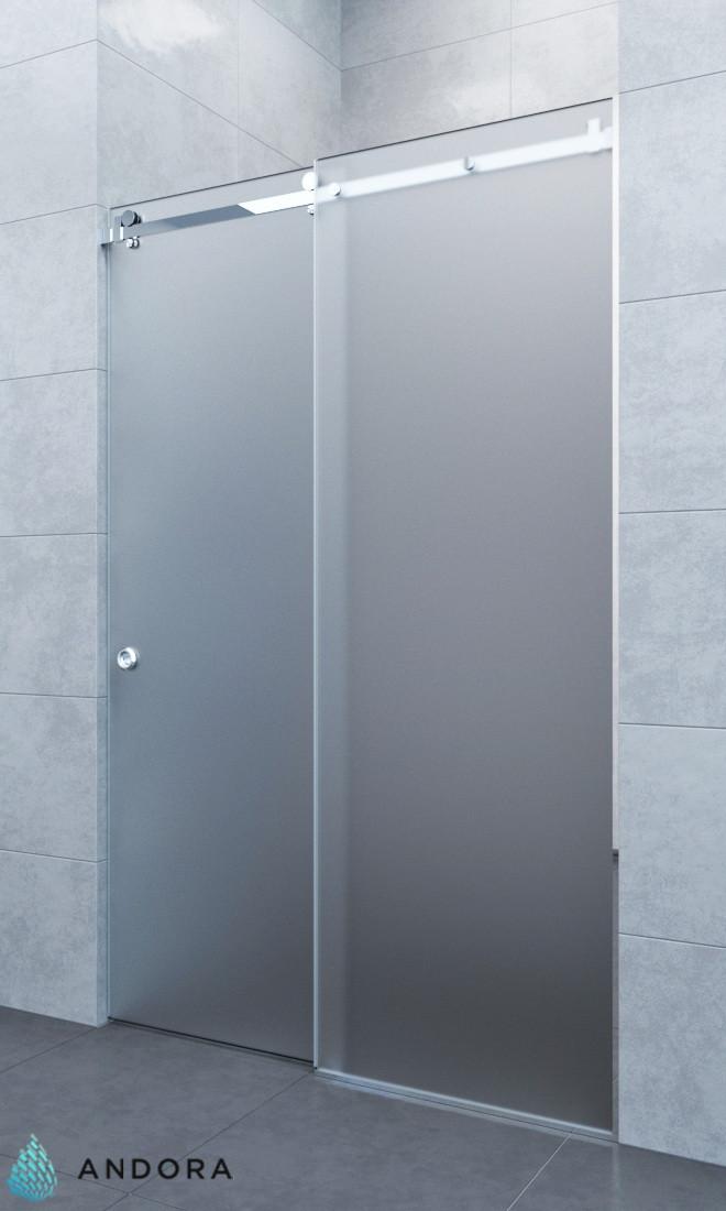 Душевая дверь ANDORA Slide P Sateen 140