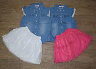 """Комплект блузка+юбка для девочки на 4-6-8-10-12 лет """"Grace"""" Венгрия"""