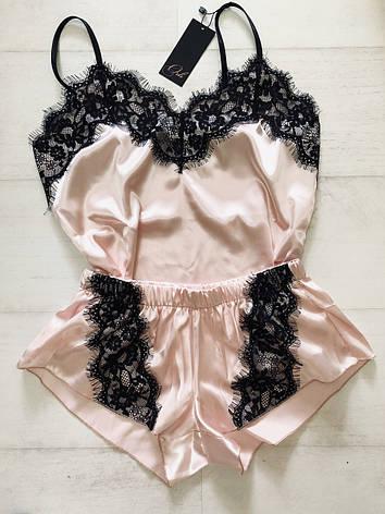Нежная розовая пижама майка и шортики TM Orli, фото 2