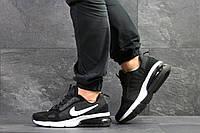 Мужские кроссовки Nike (реплика), артикул 7719 черно белые