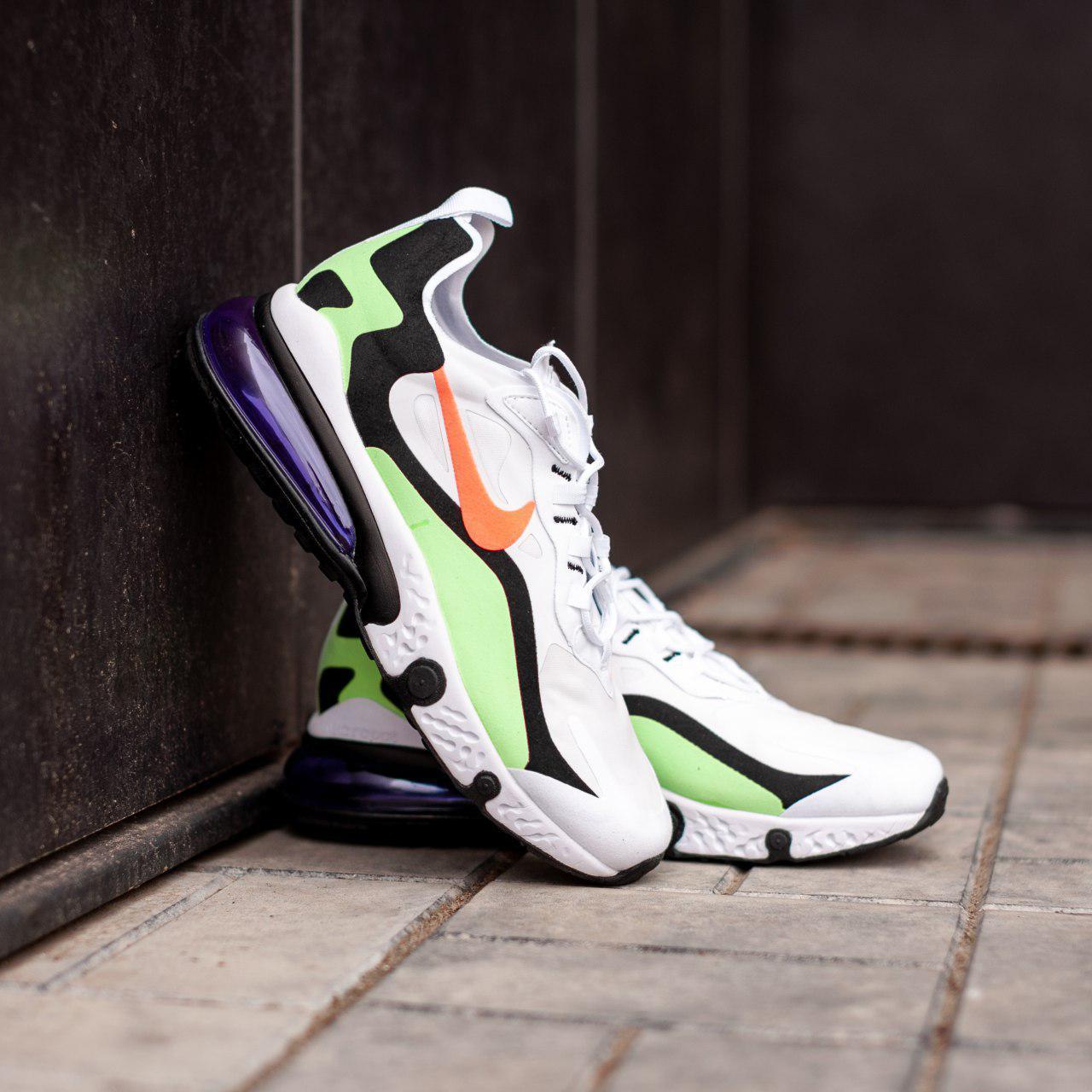 Кроссовки мужские в стиле Nike air react 270 (Реплика ААА+)