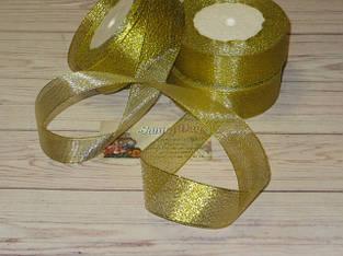 Лента парча (золото/серебро, все размеры)