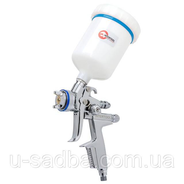 Краскопульт пневматический HVLP II профессиональный INTERTOOL PT-0105