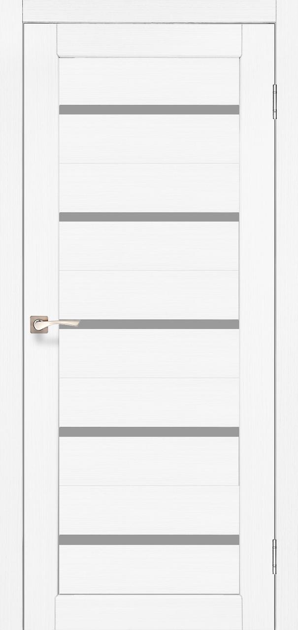 Двери KORFAD PR-02 Полотно+коробка+2 к-та наличников+добор 100мм, эко-шпон