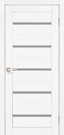 Двери KORFAD PR-02 Полотно+коробка+2 к-та наличников+добор 100мм, эко-шпон, фото 2