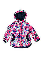 Комплект (куртка, комбинезон) ТМ Одягайко 22110 серо-розовый цвет (92)
