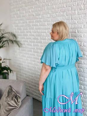 Женское летнее платье большого размера (р. 42-90) арт. Красотка, фото 2