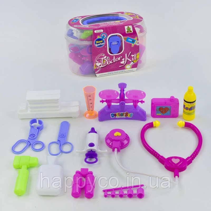 Детский игровой набор Доктор в чемодане