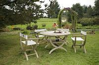 Набір садових меблів Verona стіл + 4 стільці