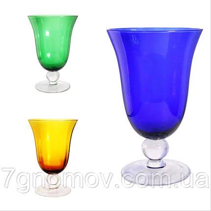 Набор 6 бокалов для вина из цветного стекла Bailey Abby по 500 мл, фото 2