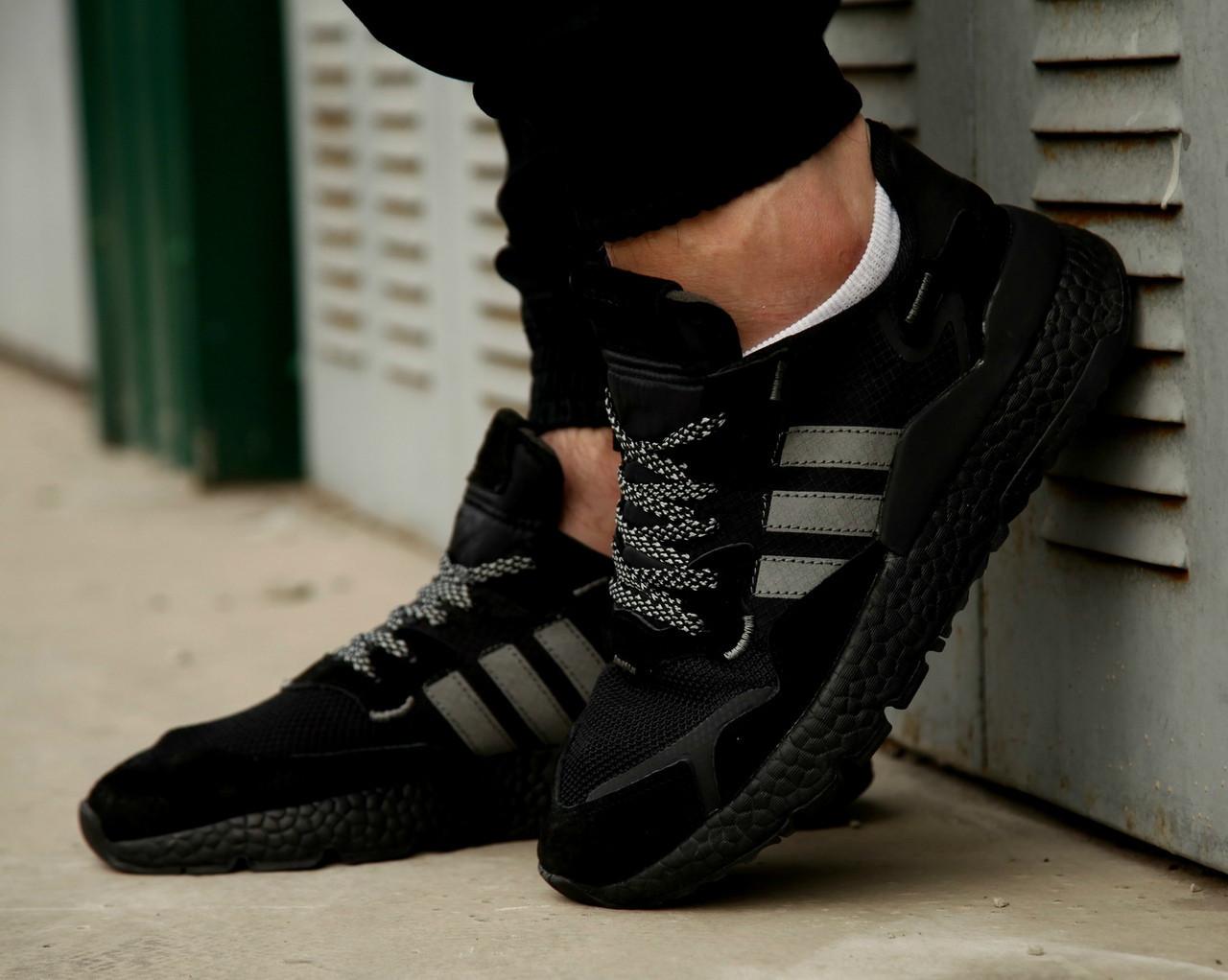 Мужские кроссовки Adidas Nite Jogger 2019 Black
