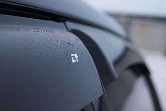 Дефлекторы окон (ветровики) БМВ 7 Ф02/Ф04 (BMW 7 F02/F04) с 2008 г (седан, лонг)