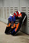 Мужские кроссовки Adidas Nite Jogger 2019 Black Orange, фото 2