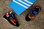 Мужские кроссовки Adidas Nite Jogger 2019 Black Orange, фото 8