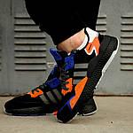 Мужские кроссовки Adidas Nite Jogger 2019 Black Orange, фото 9