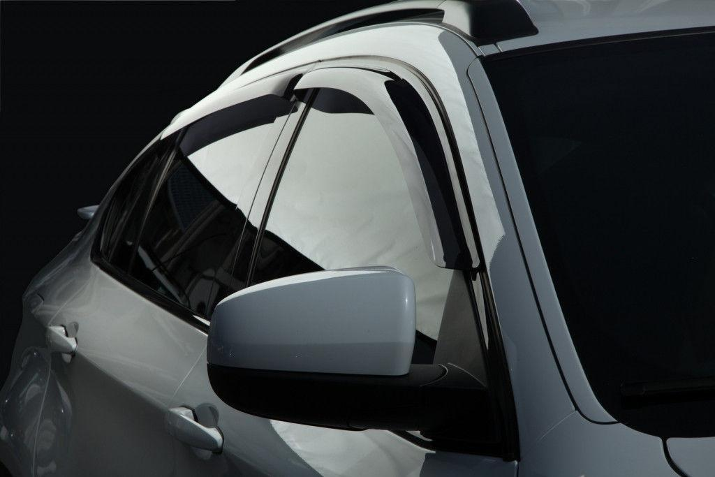 Дефлекторы окон (ветровики) Ауди Q7 (Audi Q7) с 2015 г